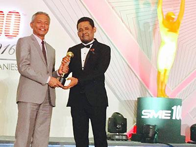 SME 100 Award 2016